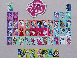 Periodic Ponies Ladies Tee