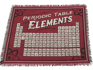 Periodic Table of Elements Blanket