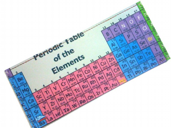 Periodic Table of the Elements Vegan Vinyl Wallet