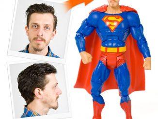 Personalised Superhero Action Figures
