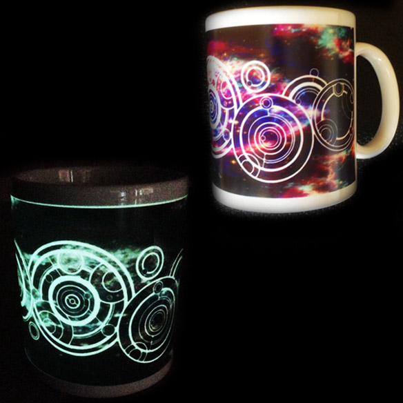 Personalized Doctor Who Glow-in-the-Dark Mug