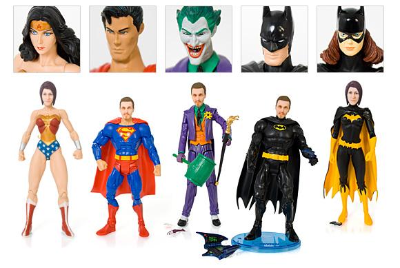 Personalized Superhero Action Figures