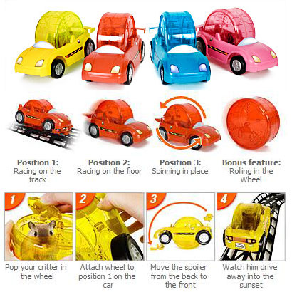 Pet Hamster Racer Set