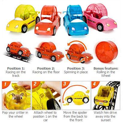 Pet Hamster Racer Set