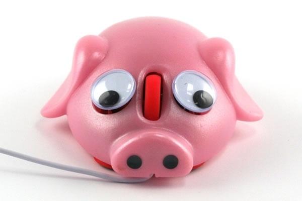 Pet Pig Computer Mouse