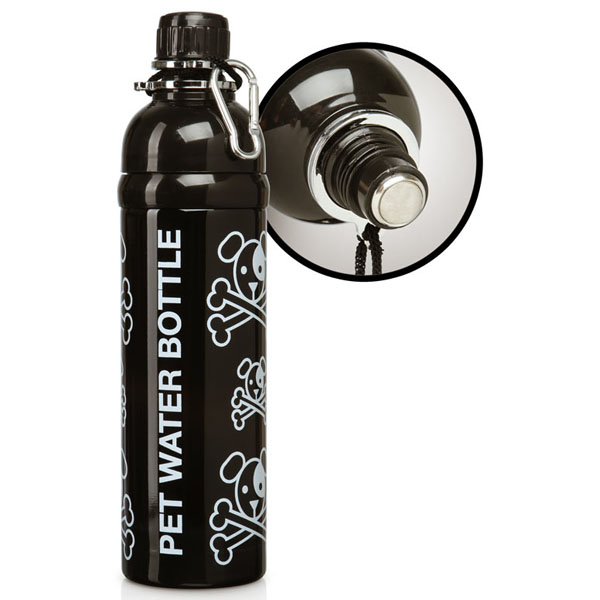 Pet Water Bottle with Roller Ball