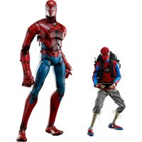 Peter Parker and Spider-Man Sixth-Scale Figure Set