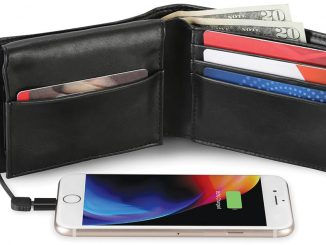 Phone Charging Power Bank Wallet