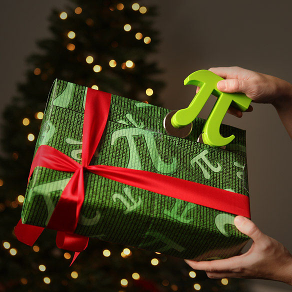 Pi Christmas Wrapping Paper