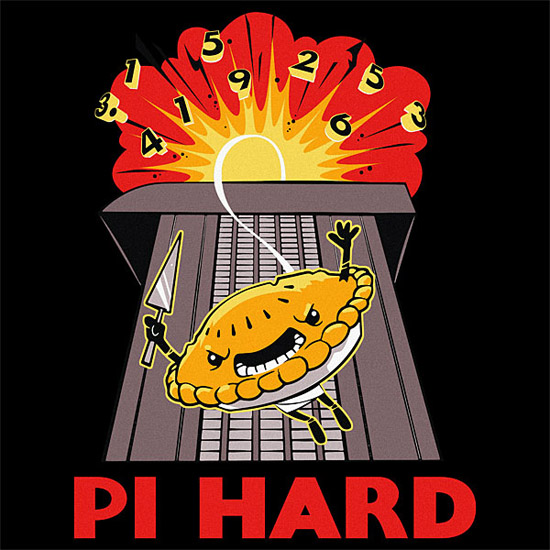 Pi Hard Pi Day Shirt