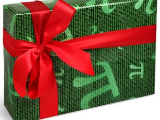 Pi Holiday Wrapping Paper