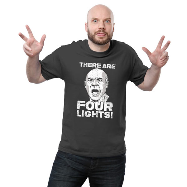 Picard 4 Lights Shirt