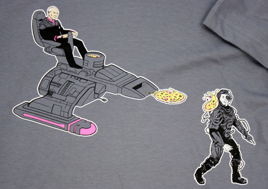 Picard Pizza T-Shirt
