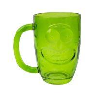 Pickle Rick Beer Glass