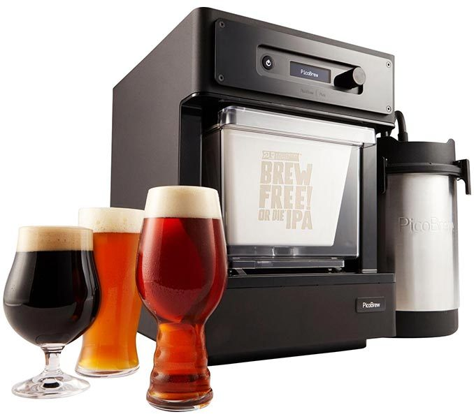 brew craft beer with picobrew brewing machine