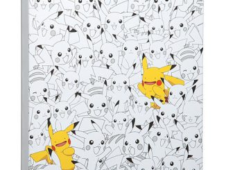 Pikachu Finding Ditto Canvas Wall Art