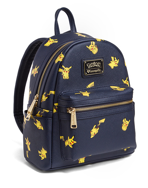 Pikachu Saffiano Vegan Leather Backpack