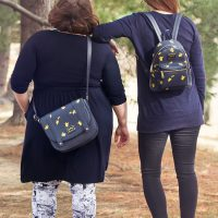 Pikachu Saffiano Vegan Leather Backpack