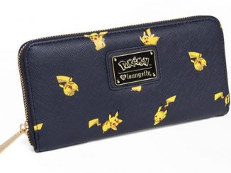 Pikachu Saffiano Vegan Leather Wallet