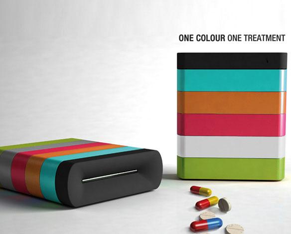Pill Box for Alzheimer Patients