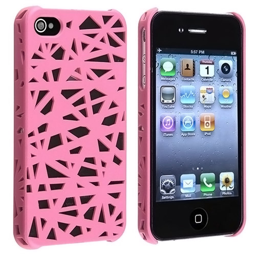 Pink Bird Nest iPhone Case