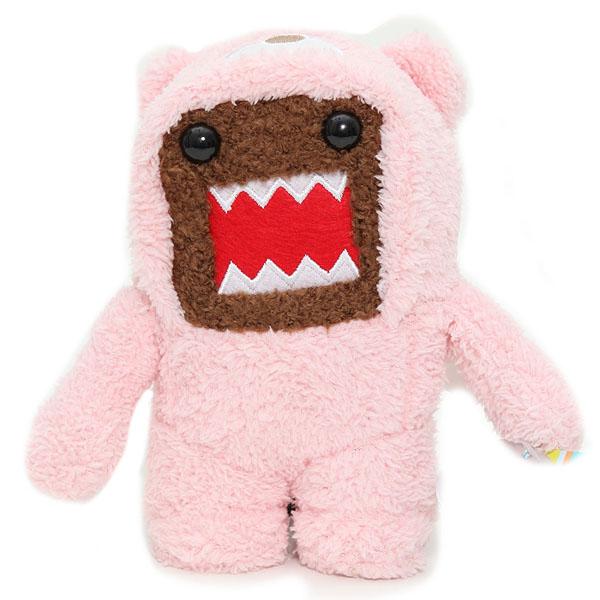 Pink Domo Plush Toy