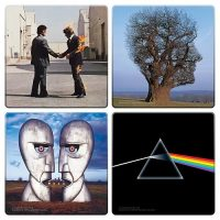 Pink Floyd Album Cover Coaster 4-Pack