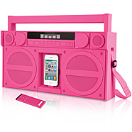 Pink iPhone iP4 Boombox