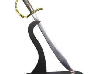 Pirate Sword Letter Opener with Stand