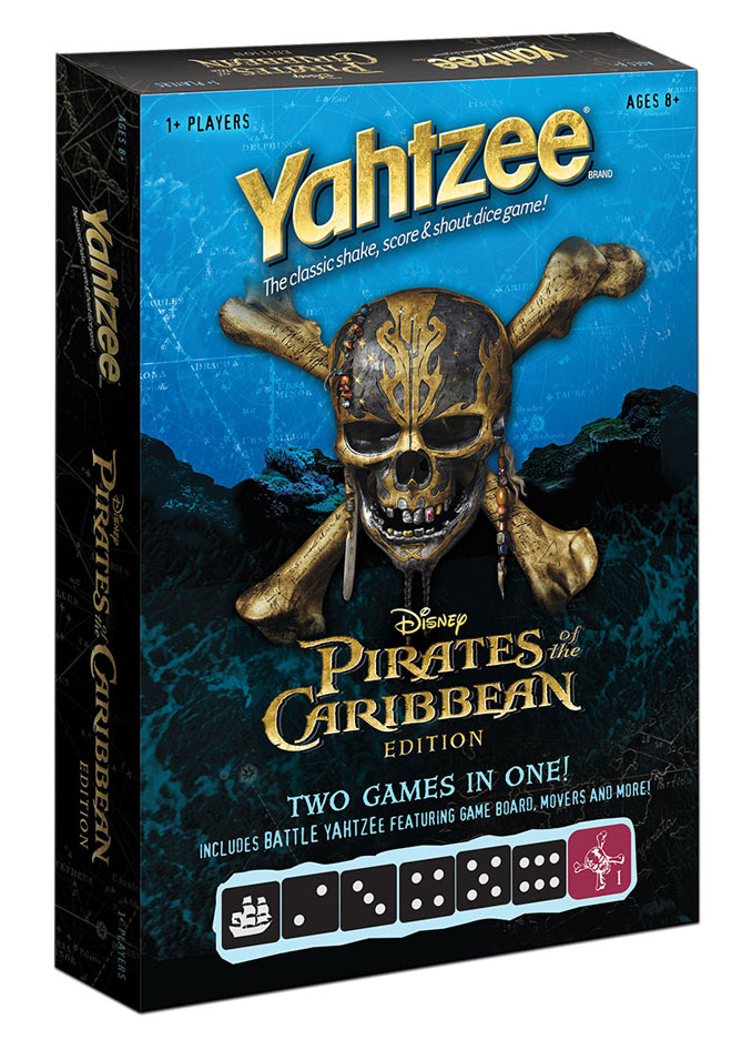 Pirates of the Caribbean Edition Yahtzee