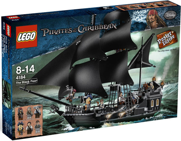 Pirates of the Caribbean LEGO Black Pearl