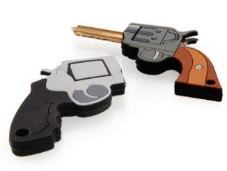 Pistol Shaped Key Covers