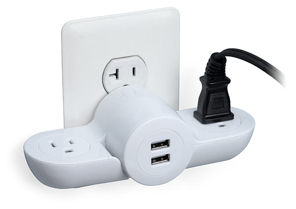 Pivot Power Mini - Wall Plug USB Combo