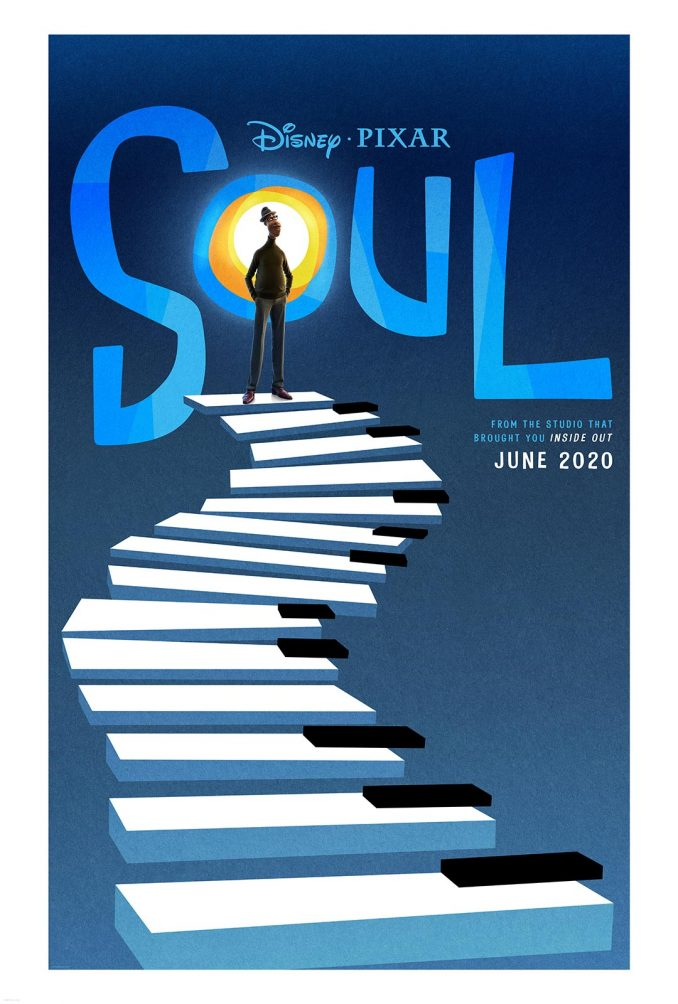 Pixar Soul Movie Poster