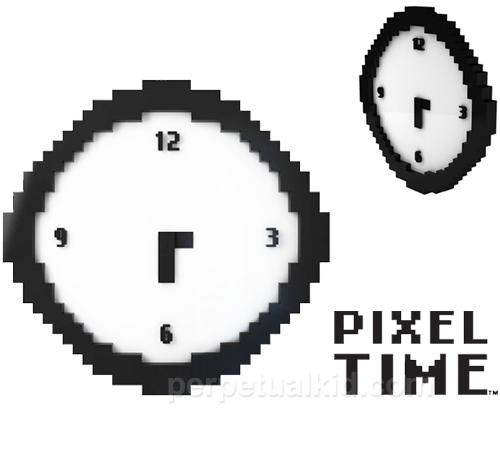 Pixel Time Wall Clock