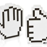 Pixelated Hand Note Pads