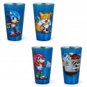 Pixelated Sonic Glass Set