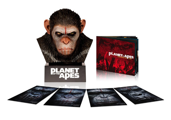 Planet of the Apes Caesars Blu-ray Warrior Collection