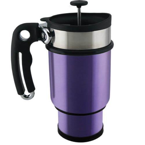 Planetary Design Double Shot Travel French Press Mug