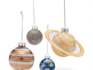 Planetary Glass Ornament Set