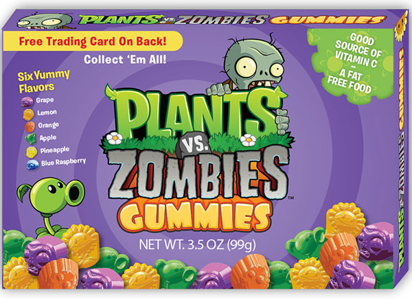 Plants Vs Zombies Gummies