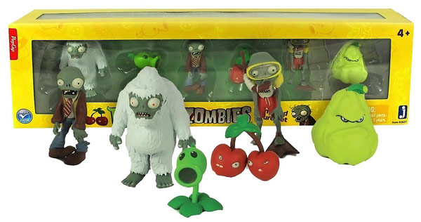 Plants vs Zombies Fun Dead Figure Set