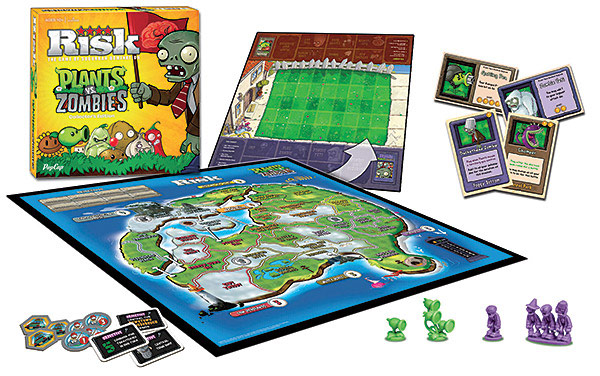 Plants vs Zombies Risk Board Game