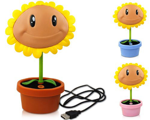 Plants Vs Zombies Sunflower Led Lamp