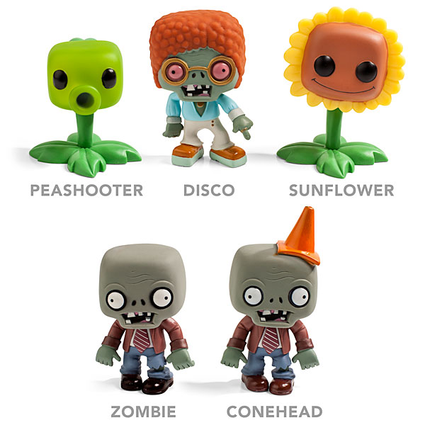 Plants vs. Zombies Vinyl Figures