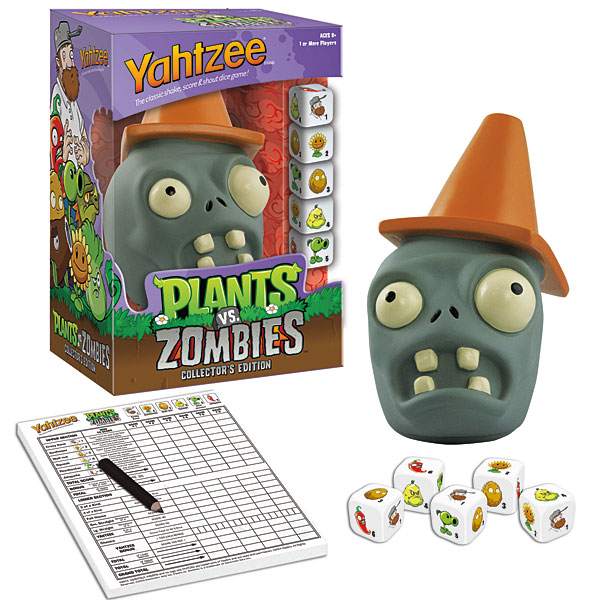 Plants vs. Zombies Yahtzee