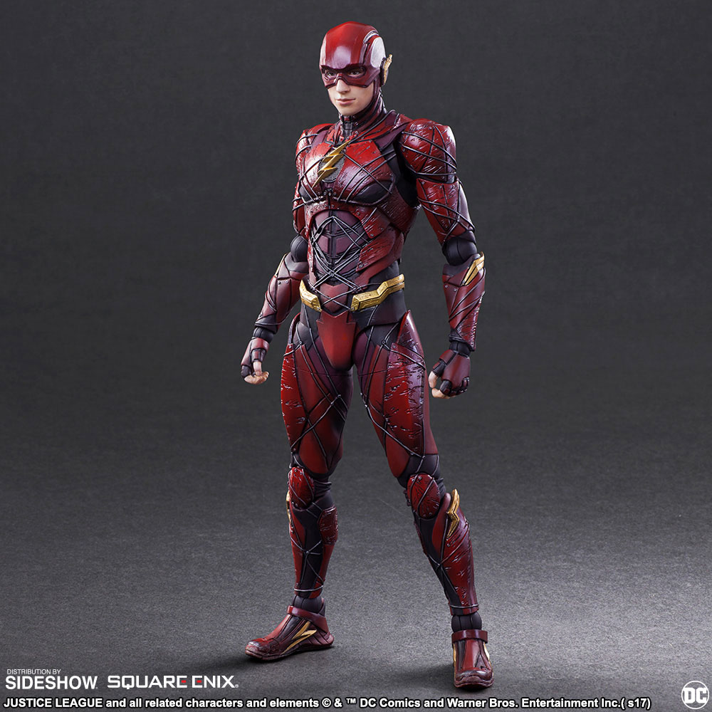 play arts kai justice league the flash figure