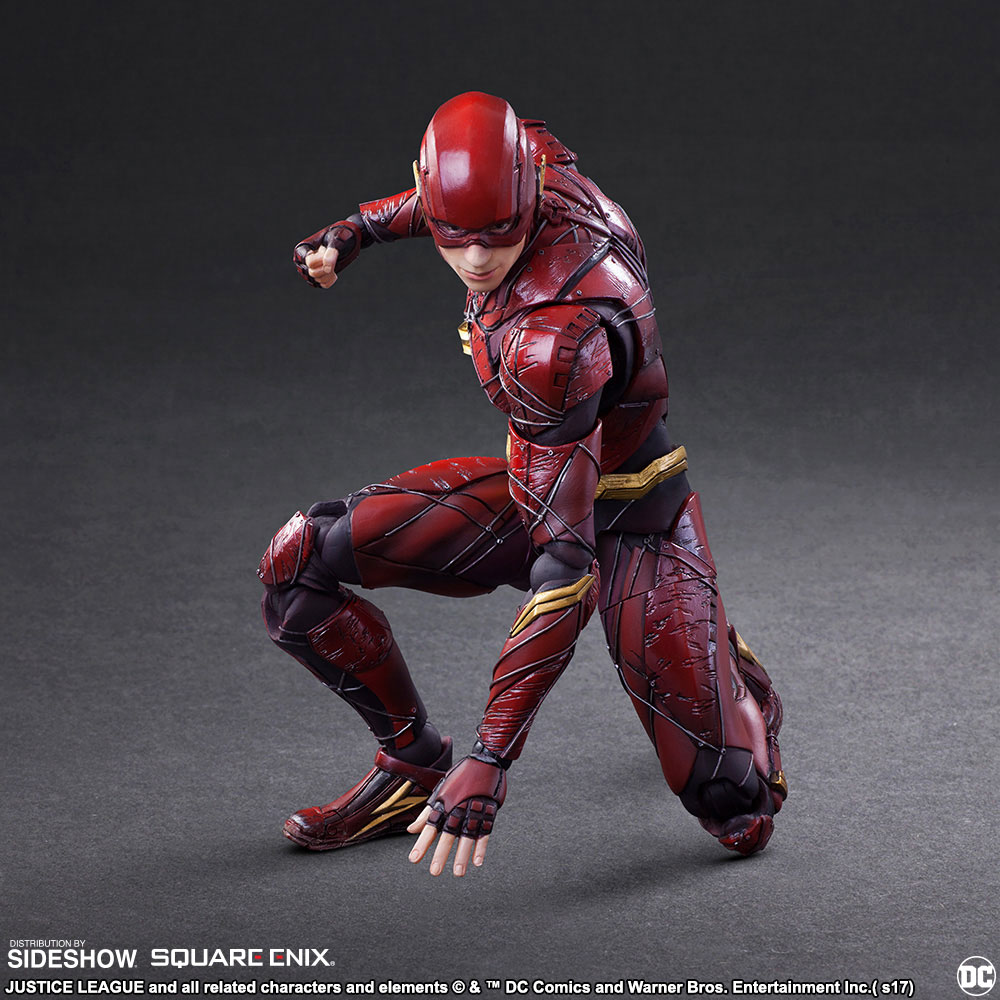 play arts kai justice league the flash figure