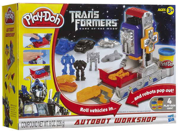 Play-Doh Transformers Autobot Workshop