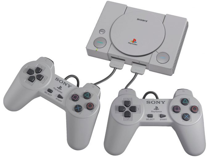 PlayStation Classic Console and Controllers